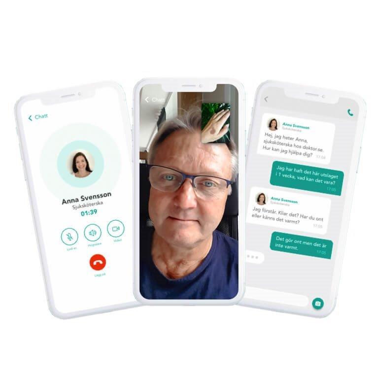Vilka nätläkare finns och hur fungerar det- doktor.se ladda ner appen och prata med en nätläkare på DOKTOR.SE här - alyzme.se listar hälsotest