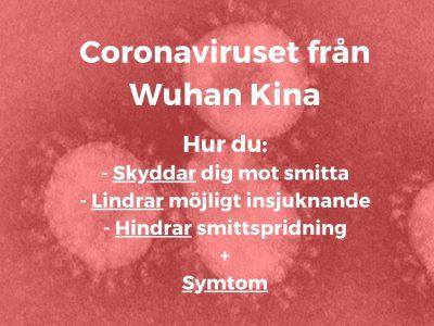 Coronavirus – Hur man skyddar sig och undviker att smittas, gör när man är smittad och symtom?